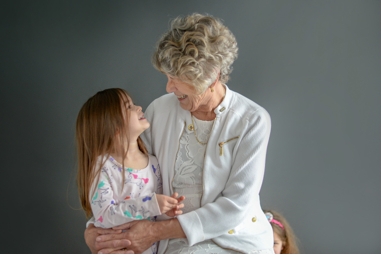 Portraits of generations together is one of our favorite sessions